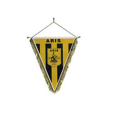 Aris Salónica Salónica XL emblema banderín, Grecia, Fanshop, nuevo Hellas New