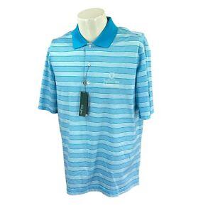 Bobby Jones Men's The Old Course St. Andrews Links Golf Polo NWT Shirt Medium