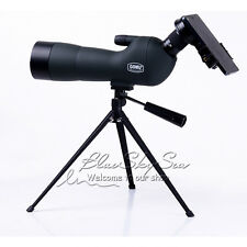 GOMU 20-60x60 Zoom Spotting Scope Monocular +Tripod+Cellphone Adapter+Carry Case