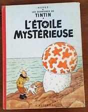 Hergé Tintin L'ETOILE MYSTERIEUSE.  B27.  Edition de 1960. (Voir les scans)