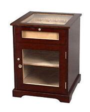 Galleria Cabinet Glass Top Cigar Humidor Cedar Chest
