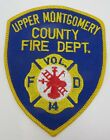 Vintage Upper Montgomery County Fire Dept Patch