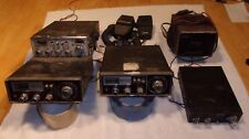4) Vintage CB radios-Colt 355-Midland-Uniden