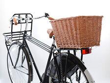 Hollandia Rear Rack Bike Wicker Basket