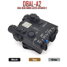 Tactical PEQ-15A DBAL-A2 Weapon Light LED White Light IR / Red Laser Battery Box