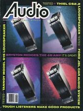 Audio Magazine Aug 1992Bryston 4B NRB,Tannoy 615,Thiel CS2.2,Theta DSPro D/A