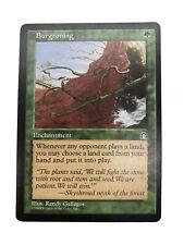 Burgeoning Stronghold Green Magic Gathering Card MtG English LP x1