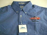 "RARE- BMW CCA FOUNDATION ""The FIRST M"" Long Sleeve embroidered shirt- Size XL"