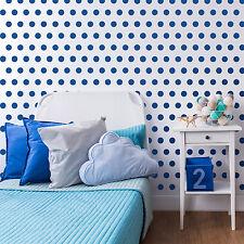 Polkadot Pattern Wall Stencil - CraftStar Laser Cut 5cm polka dots stencil