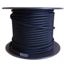 100 ft. Spool of Black Parallel Rayon Covered Wire SPT-1