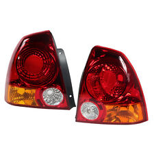 Par (derecho & izquierda) Parada de Cola Trasero Luz Lámpara Para Hyundai Accent 2004-2005-2006