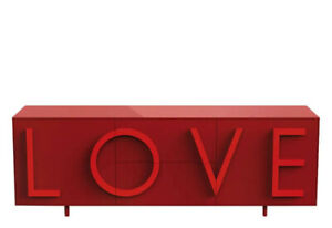 Sideboard Driade Love Large - Red