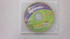 California Mathematics Grade 5 Student Works Plus CD-ROM New 0021079455