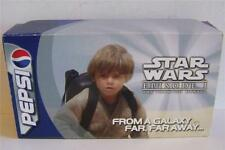 Star Wars Pepsi promotional sample can display EP 1 boxed set of 4
