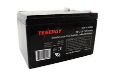 Tenergy 12V 12AH (TB12120) Maintenance-free Sealed Lead Acid Battery SLA Battery