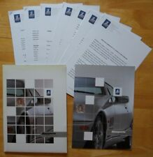 DE TOMASO MANGUSTA by QVALE Rare 2000 Press Pack Kit with Brochure in English