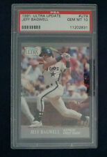 Jeff Bagwell  Rookie 1991 Fleer Ultra Update #U79   PSA 10 Gem Mint  Astros