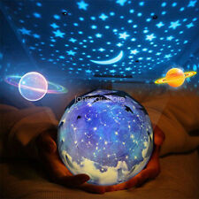 Xmas Gilfs Night Light Projection Lamp Star Sea Projector Lamp For Baby Bedroom