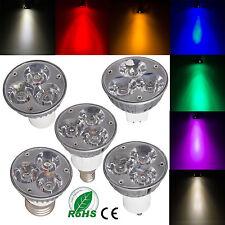 Dimmable LED Spot Light Bulb GU10 B22 GU5.3 MR16 E14 4W High Power Epistar Lamp