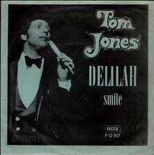 "TOM JONES Delilah  7"" Ps, Rare Orig Hungarian Issue"