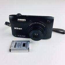Nikon COOLPIX S3600 20.1MP Digital Camera - Black