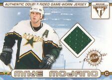 2001-02 Pacific Titanium Hockey Double JERSEY #52 Mike Modano/Pierre Turgeon