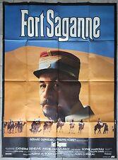 Affiche FORT SAGANNE Alain Corneau PHILIPPE NOIRET Gérard Depardieu 120x160cm *