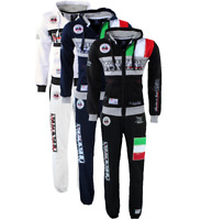 Tuta Geographical Norway completo felpa Flitaly Pantalone Mitaly lungo due pezzi