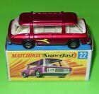 Matchbox Superfast / 22 Freeman Intercity Commuter / Boxed