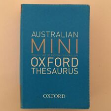 Thesaurus | Australian Mini Oxford Thesaurus