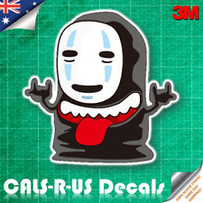 Spirited Away No Face Kaonashi Rock Anime Vinyl Decal Sticker for Skateboard Car