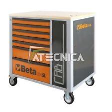 Carro herramienta con cabina plan de madera Beta C24SL CAB naranja 7 pull tabs