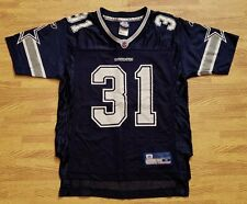 Roy Williams #31 Dallas Cowboys Reebok Blue Jersey ~ Youth Medium M ~ NFL