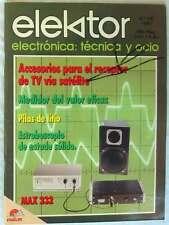 ELEKTOR - ELECTRÓNICA, TÉCNICA Y OCIO - Nº 84 - MAYO 1987 - VER SUMARIO