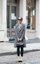 The Kooples Mark Graphic Houndstooth Coat Size Size 2 NWT Purchased in Paris