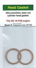OS .45 FSR Cylinder Head Gasket 2 Pack NIP