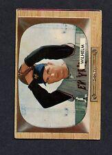 1955 Bowman #1 Hoyt Wilhelm EX  C0005068