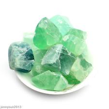 50g Mineral Natural Fluorspar Stone Crystals Quartz Healing Point Chakra Reiki