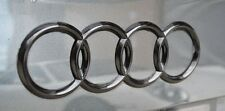 Audi A6 S6 RS6 Gloss Black 3D Boot Logo/Rings/Badge/Emblem 180mm x 60mm