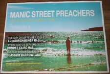 More details for manic street preachers live music show 2021 promotional tour concert gig poster
