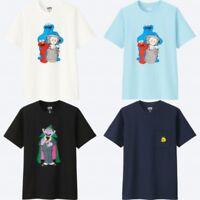 KAWS & UNIQLO Sesame Street Elmo Cookie Monster BIG BIRD Count Von Count 3XL XXL