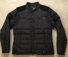 HARLEY DAVIDSON Men's Medium Black Winter Down Ski Riding Jacket Coat Vest NWOT