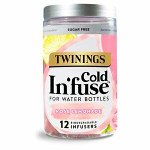Twinings Cold Infuse Rose Lemonade 30g