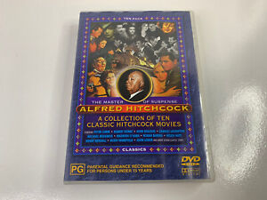 Alfred Hitchcock  DVD  A Collection Of Ten Classic Movies  4 disc set R0