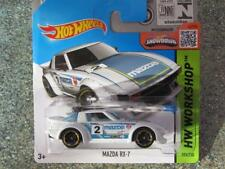 Hot Wheels 2015 #193/250 MAZDA RX-7 white HW Workshop
