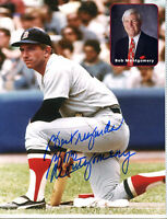Autographed Signed Bob Motgomery Red Sox 8x10 Photo w/COA jhaut