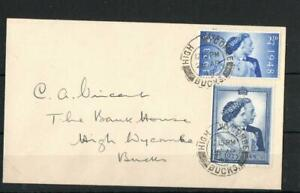 GB 1948 SILVER WEDDING SET FIRST DAY COVER