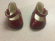 American Girl Bitty Baby Rosy Red Holiday Dress Set Shoes 2004 Retired HTF