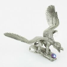 Stalking Griffin | Vintage Fantasy Pewter Figure by KRM | Cast in the USA