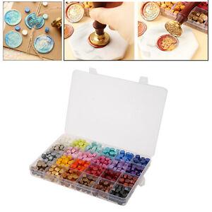Octagonal Assorted Sealing Wax Beads Stamp Pills Melting Gift Sealing Tablet